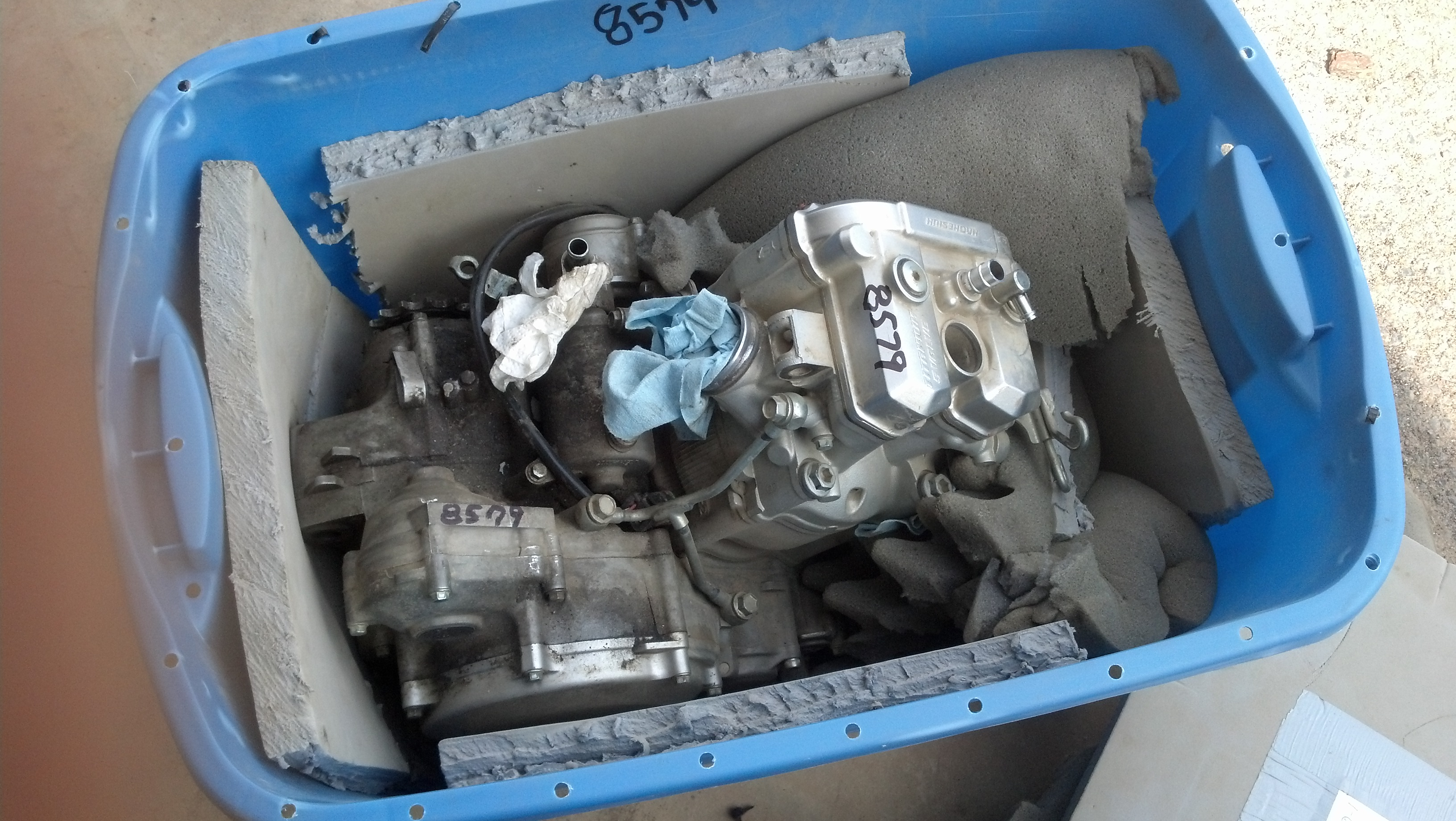 Details about Yamaha YFZ450R YFZ450X TOTAL Engine Motor Rebuild YFZ450  Specialist -Parts&Labor