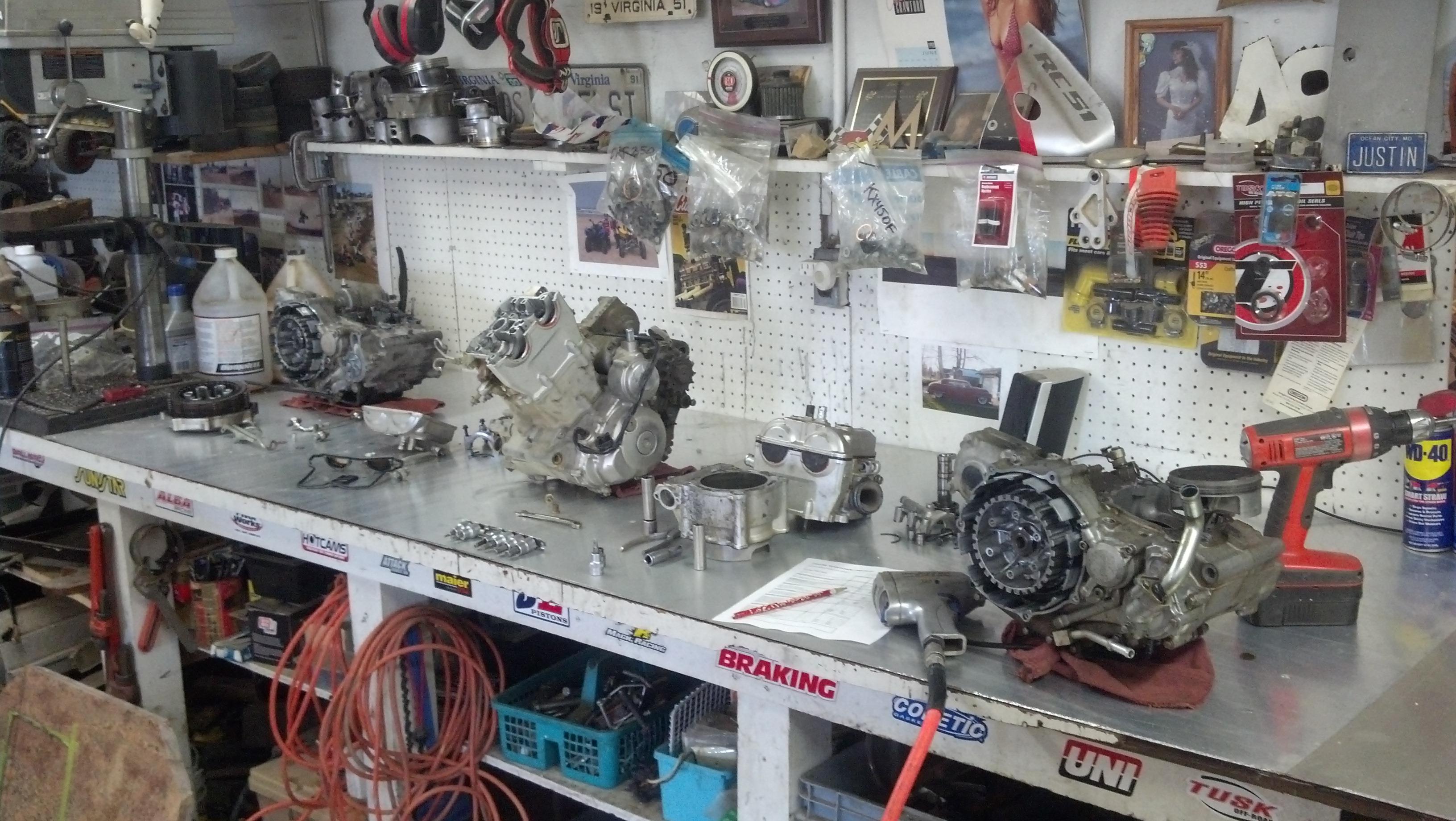 Yamaha YFZ 450R Engine Bottom End Rebuild - Parts & Labor ...
